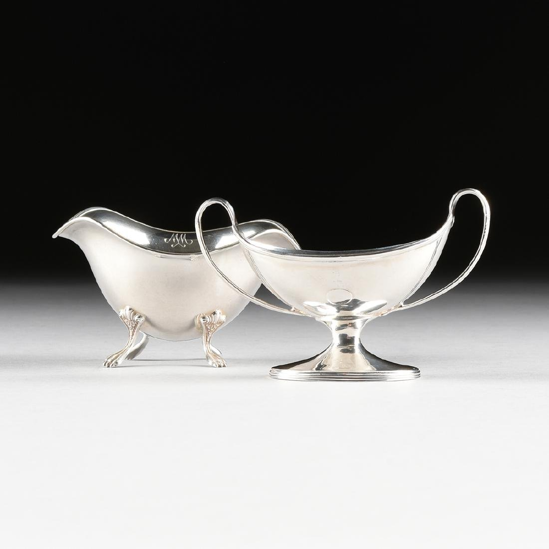 A THOMAS DANIELL GEORGE III PERIOD STERLING SILVER OPEN