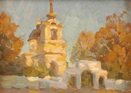 1002: ALEXANDER ZHUCHENKO (Russian b. 1955) A pair of p