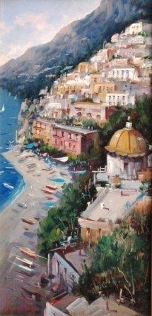 1004: G. IANNICELLA (Italian 20th Century) A painting,