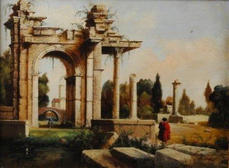 1016: GIORGIO MICHELE ROCCA (European b. 1959) A painti