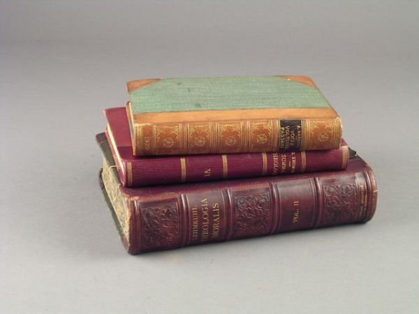 268: A SET OF TWO GILT-TOOLED LEATHER BOUND BOOKS, Intr