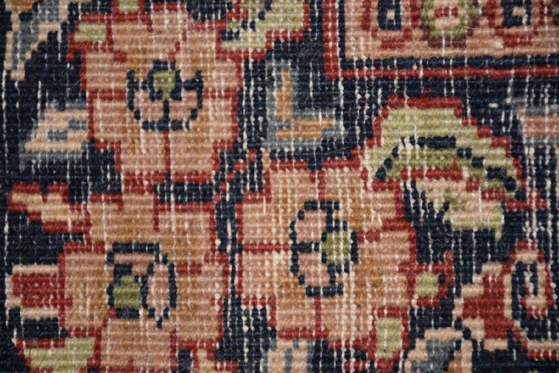 A SAROUK STYLE HAND KNOTTED WOOL RUG, INDIAN, MODERN, - 10