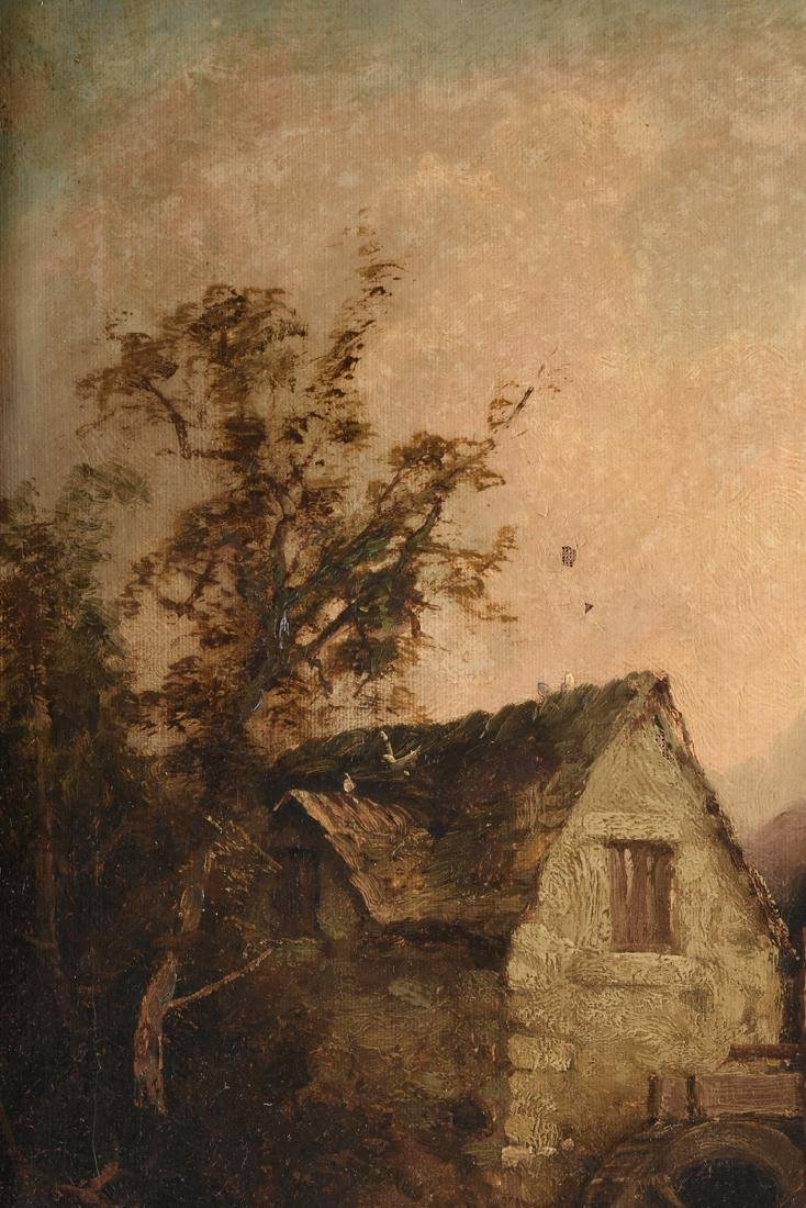 "TOM SEYMOUR (English 1844-1904) A PAINTING, ""Watermill, - 3"