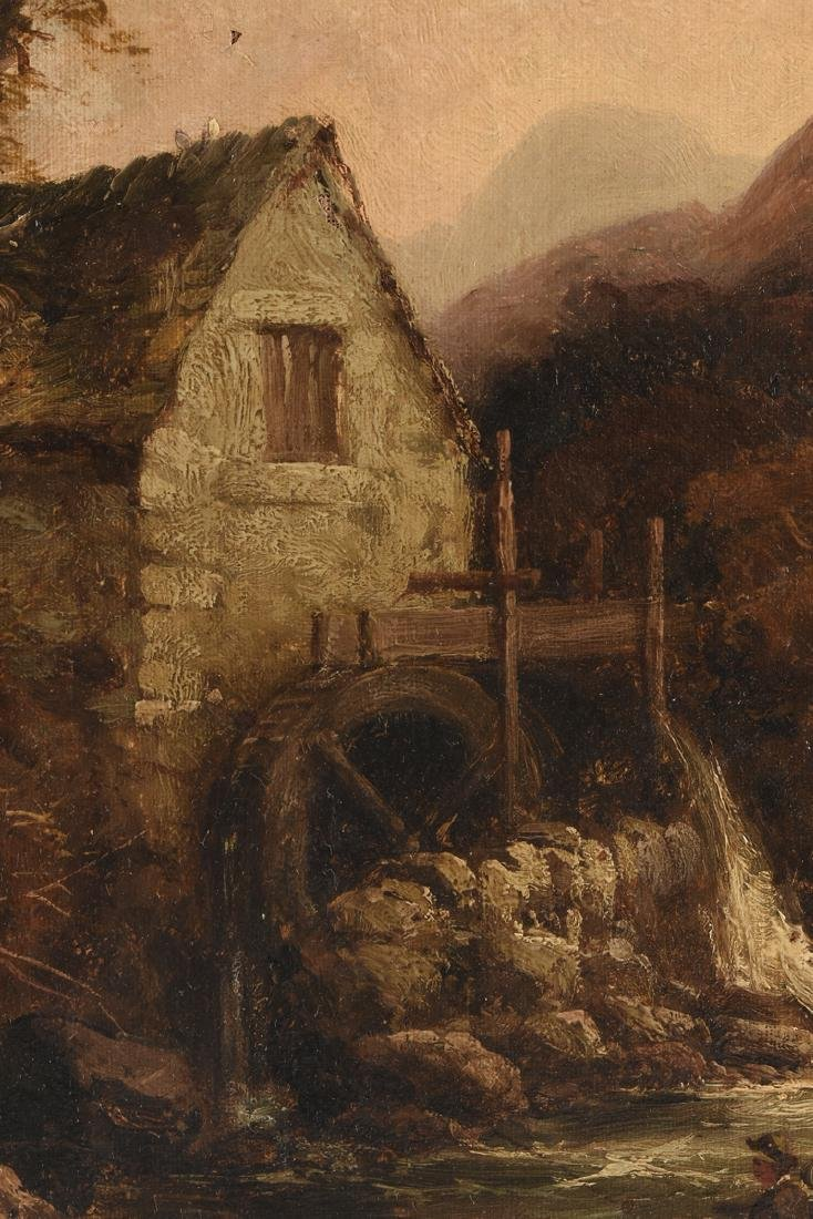 "TOM SEYMOUR (English 1844-1904) A PAINTING, ""Watermill, - 6"