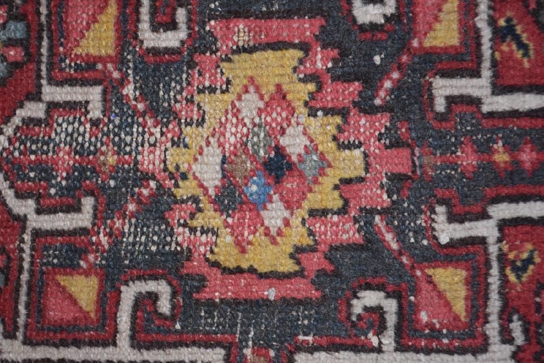 AN ANATOLIAN HAND KNOTTED WOOL MAT, TURKISH, CIRCA - 4
