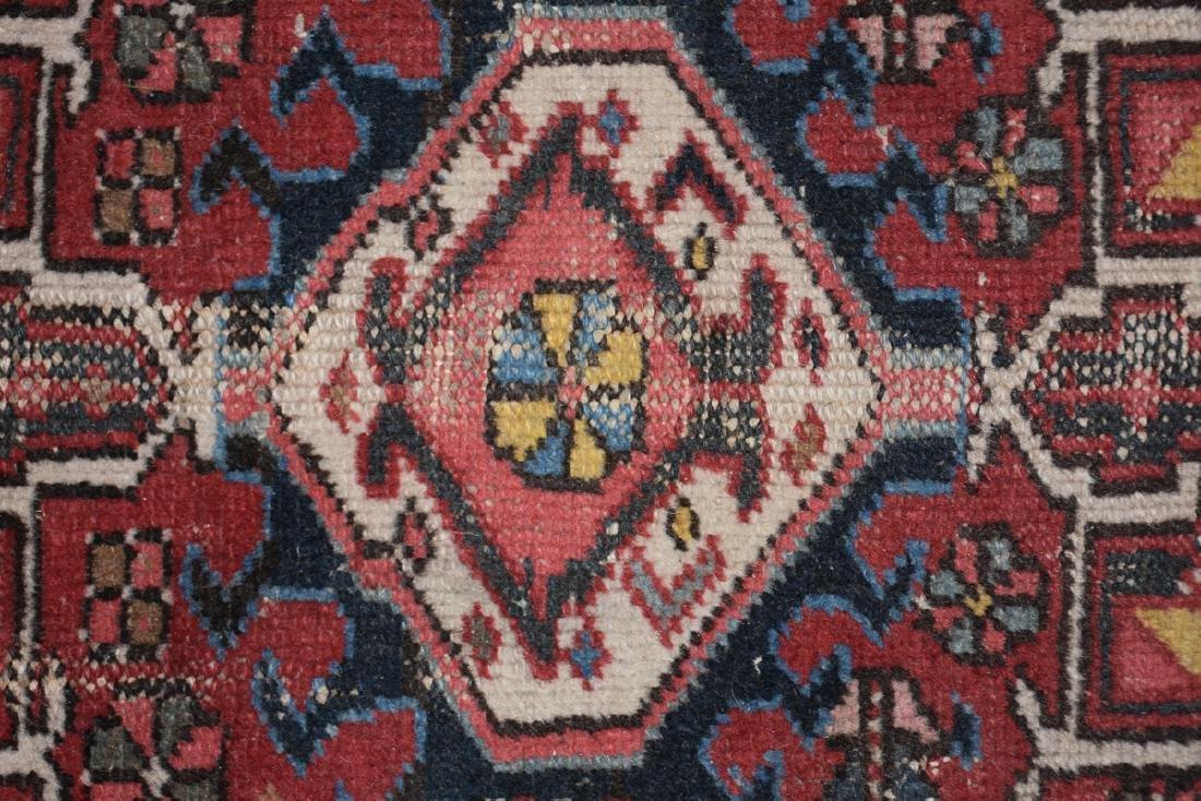 AN ANATOLIAN HAND KNOTTED WOOL MAT, TURKISH, CIRCA - 5