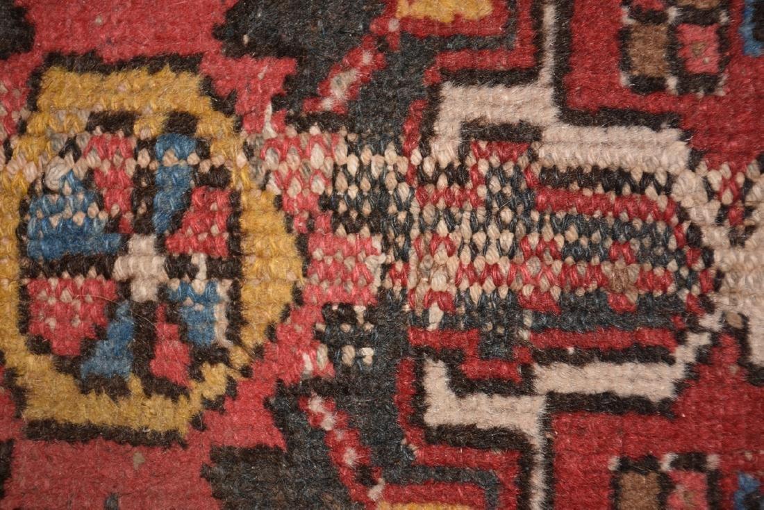 AN ANATOLIAN HAND KNOTTED WOOL MAT, TURKISH, CIRCA - 6