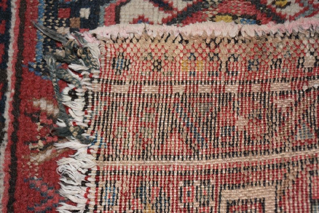 AN ANATOLIAN HAND KNOTTED WOOL MAT, TURKISH, CIRCA - 8
