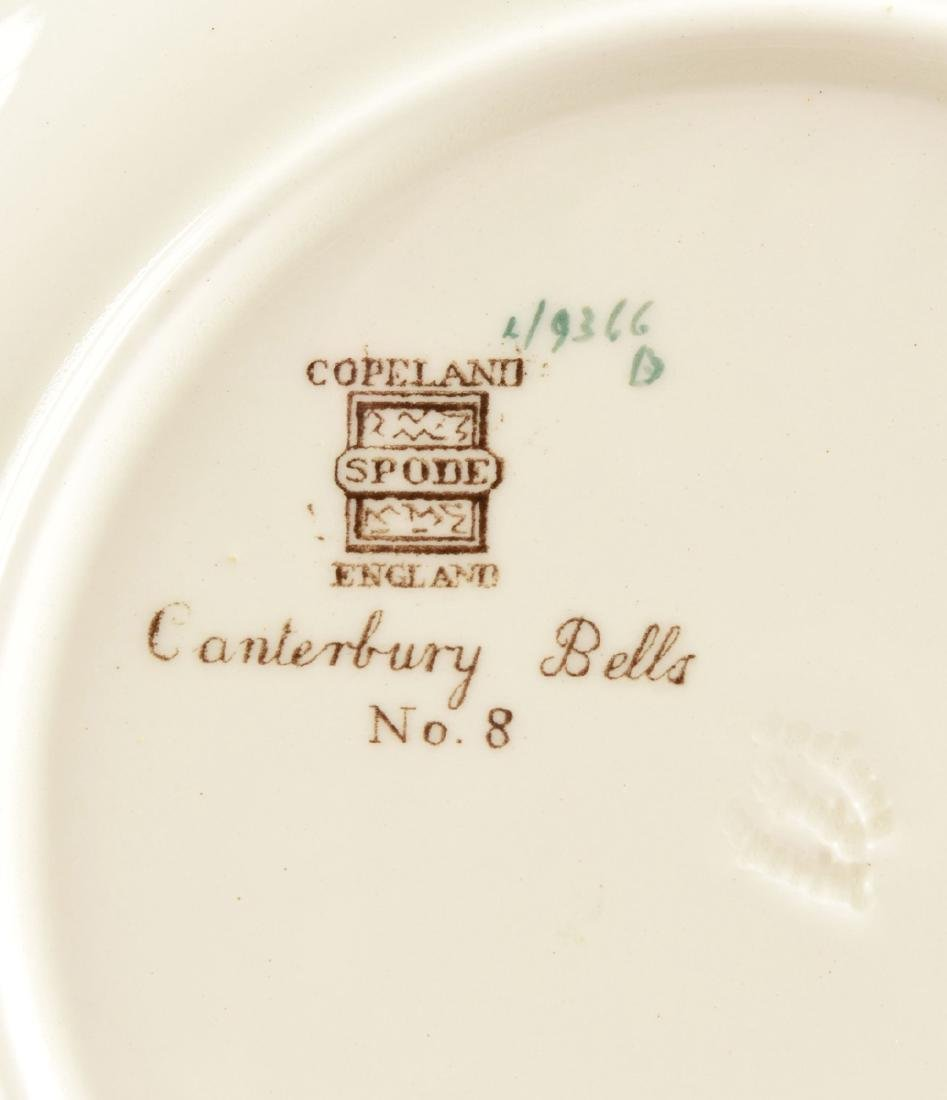 A SET OF SEVEN COPELAND SPODE TRANSFER PRINTED LUNCHEON - 15