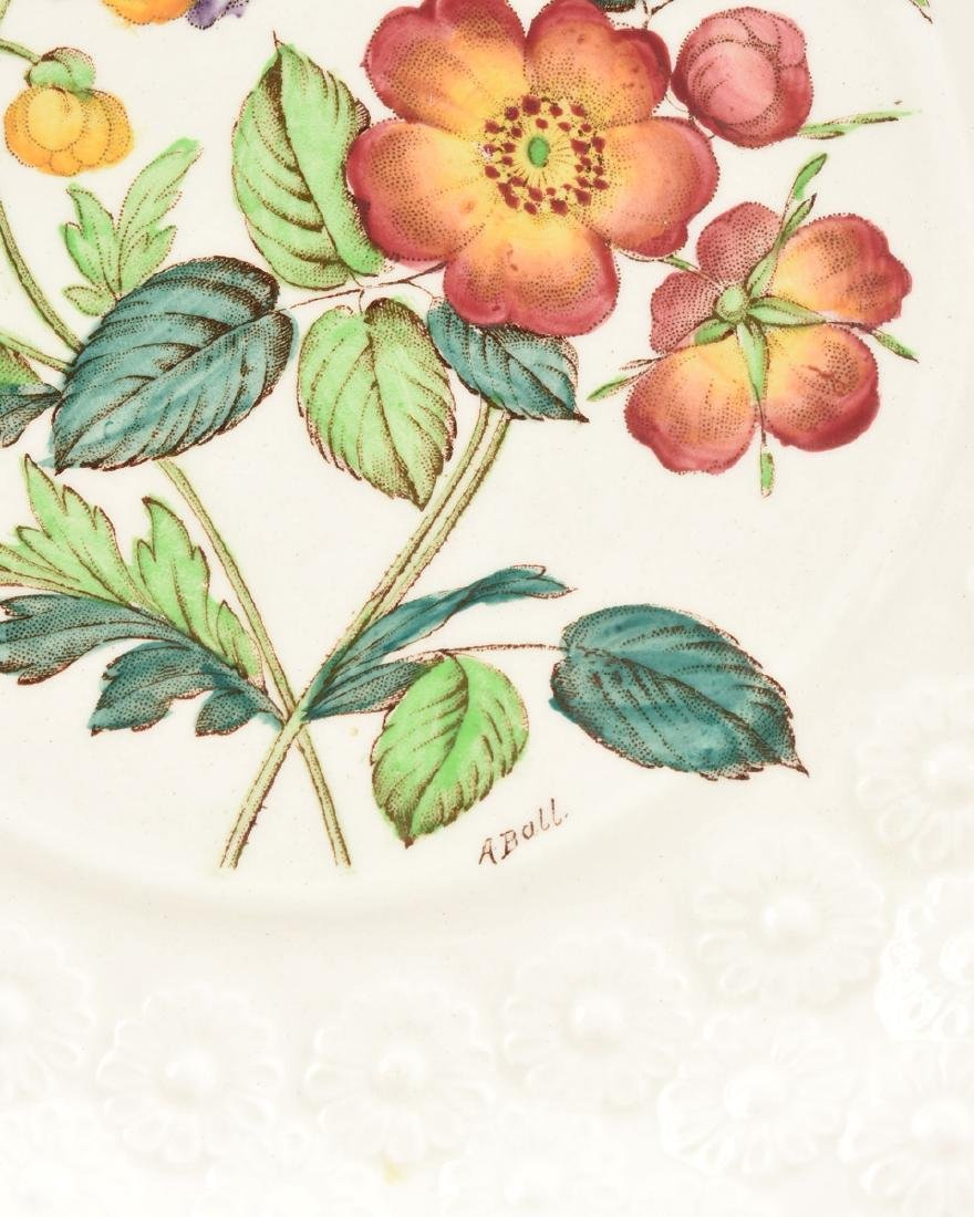 A SET OF SEVEN COPELAND SPODE TRANSFER PRINTED LUNCHEON - 2