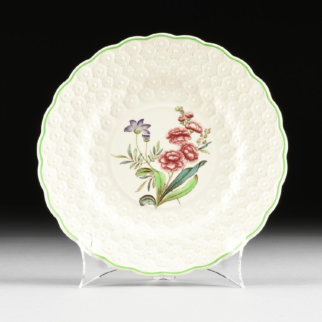 A SET OF SEVEN COPELAND SPODE TRANSFER PRINTED LUNCHEON - 6