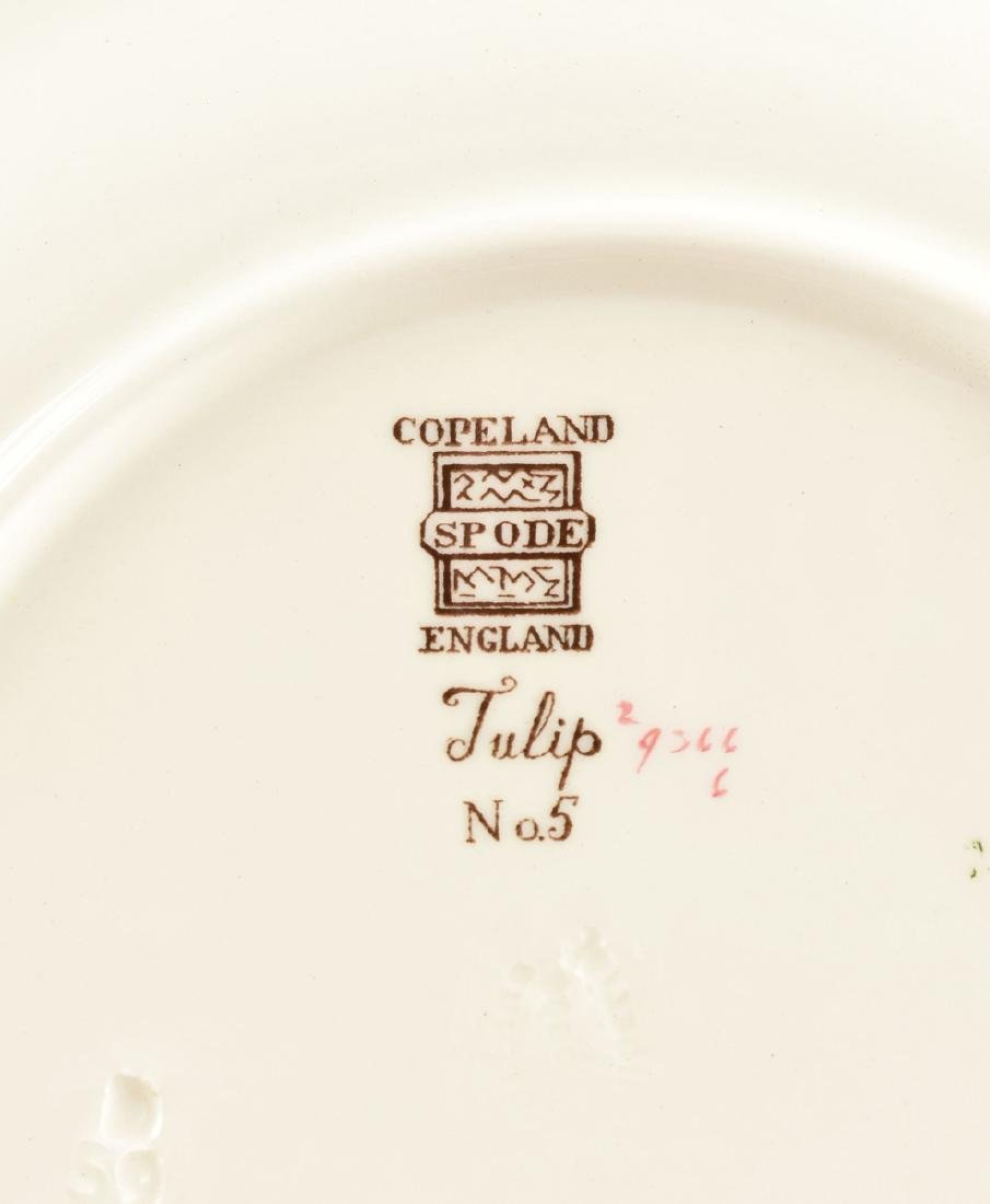 A SET OF SEVEN COPELAND SPODE TRANSFER PRINTED LUNCHEON - 9