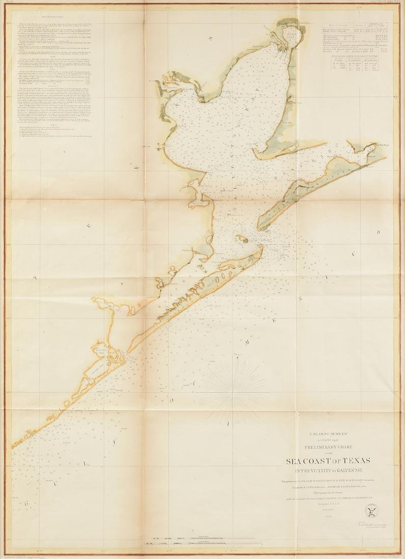 A SURVEY OF THE COAST OF THE UNITED STATES, A HAND