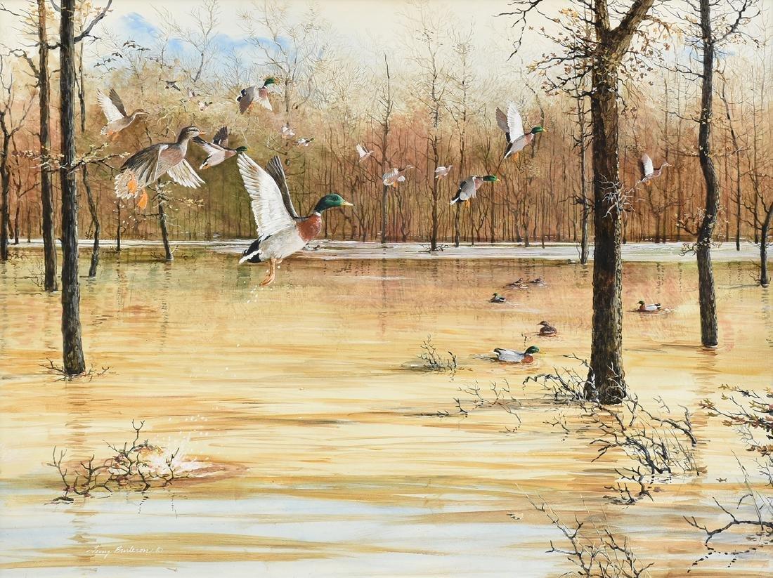 TERRY BURLESON (American/Texas 20th Century) A