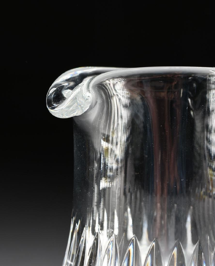 A GROUP OF TWO BACCARAT CUT CRYSTAL VESSELS IN THE - 3