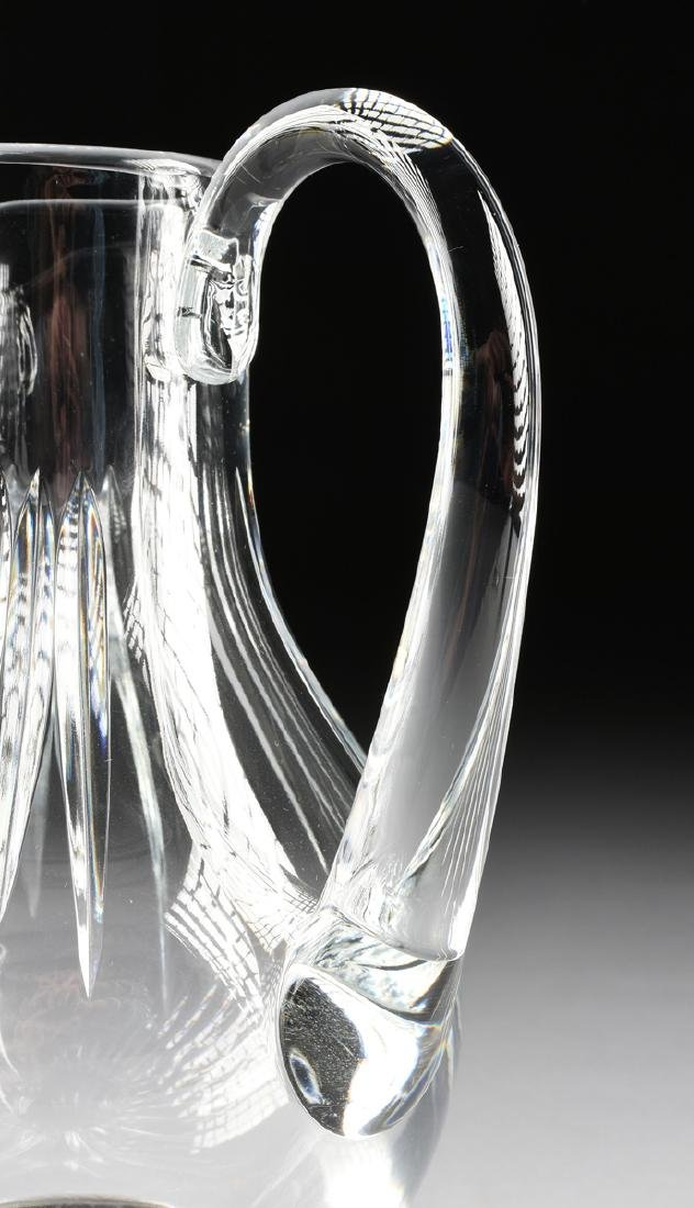A GROUP OF TWO BACCARAT CUT CRYSTAL VESSELS IN THE - 4