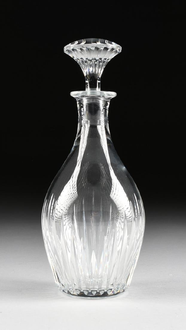 A GROUP OF TWO BACCARAT CUT CRYSTAL VESSELS IN THE - 7