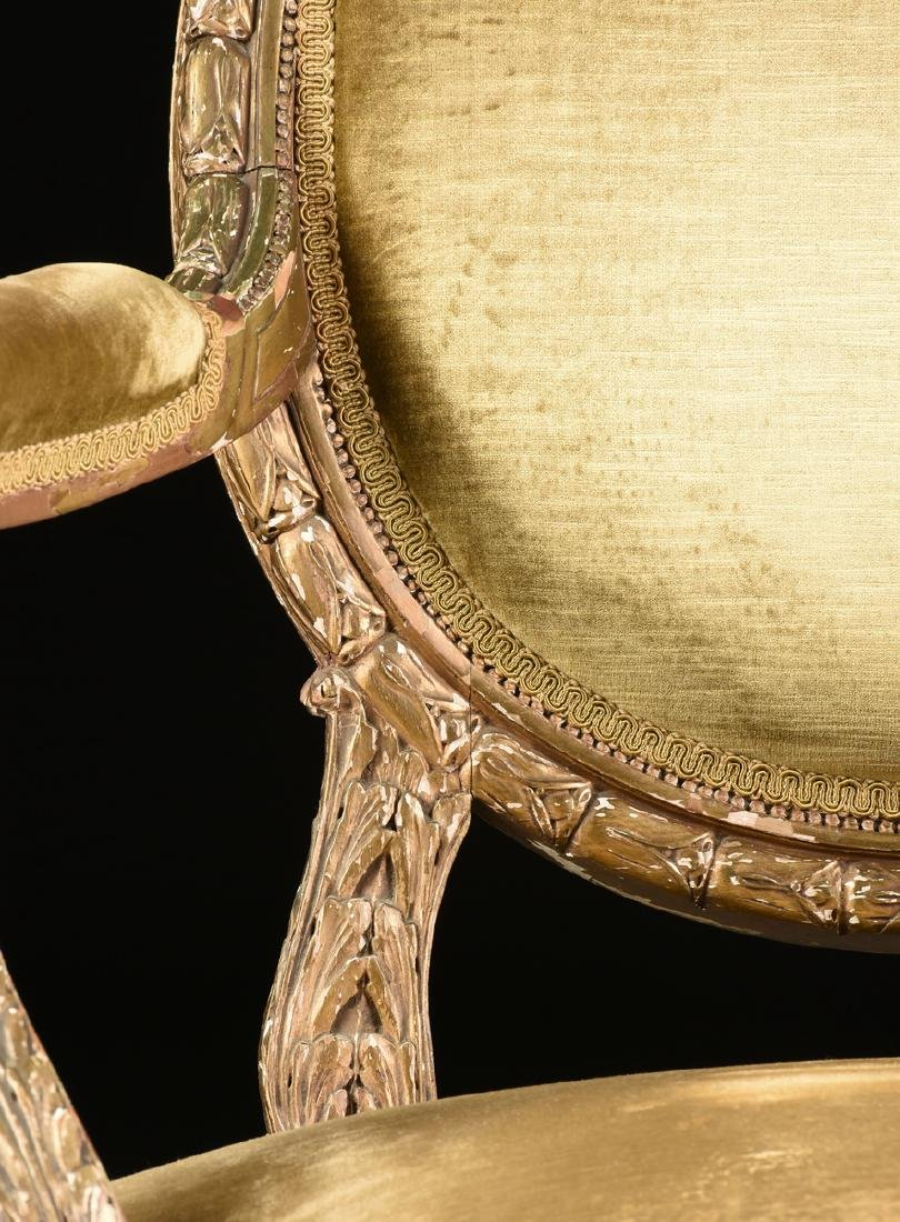 A PAIR OF NORTHERN ITALIAN NEOCLASSICAL GILTWOOD BEECH - 7