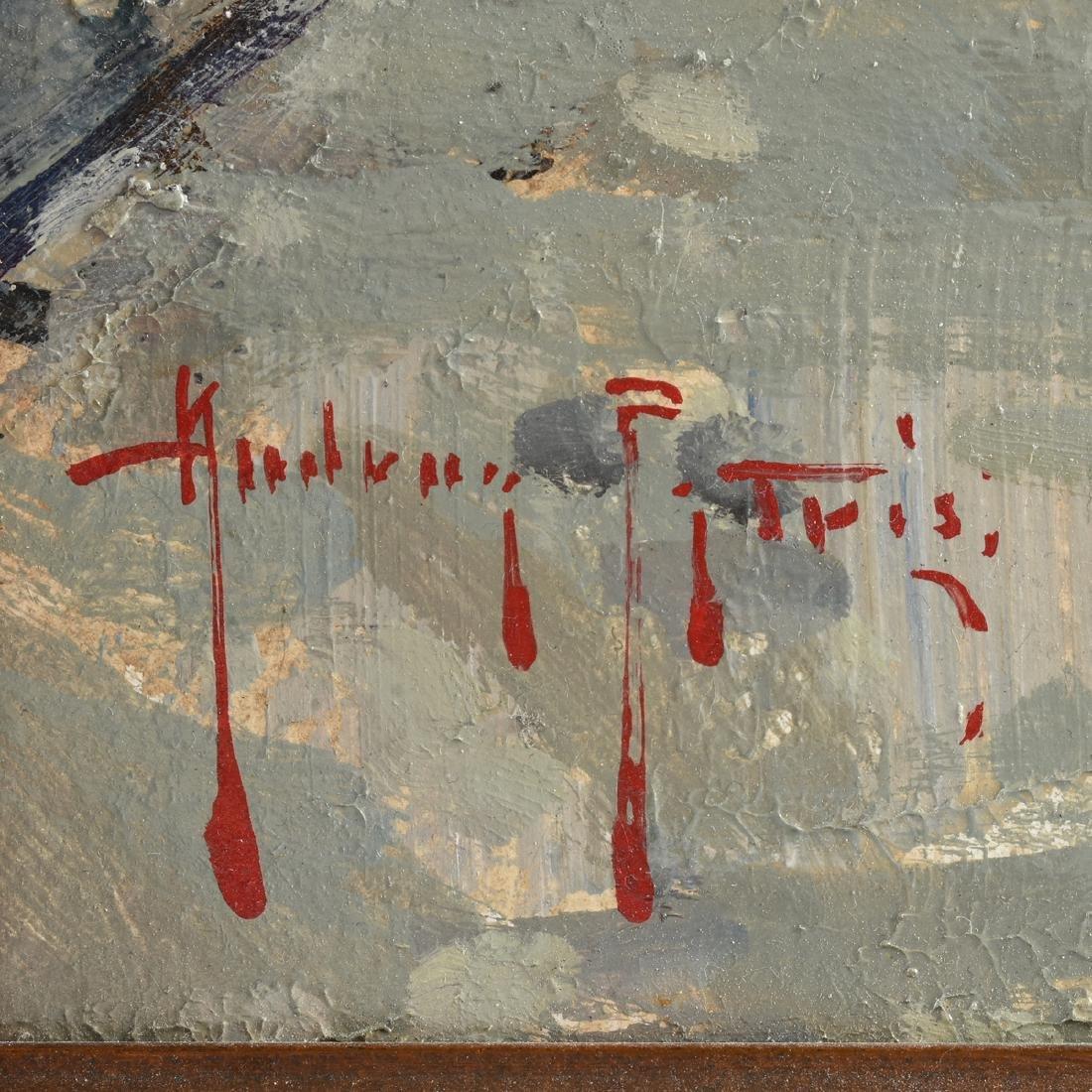 """ANDREA PATRISI (Italian b. 1954) A PAINTING, """"Almalfi,"""" - 3"""