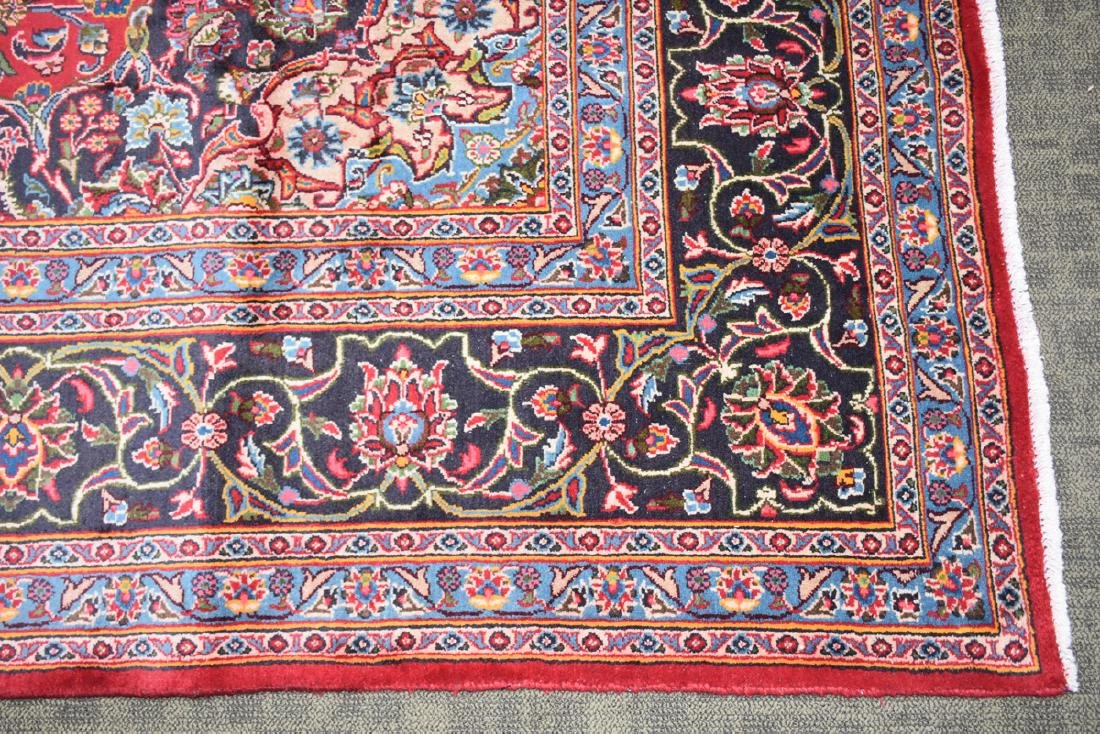 A TABRIZ HAND KNOTTED WOOL RUG, PERSIAN, MODERN, - 3