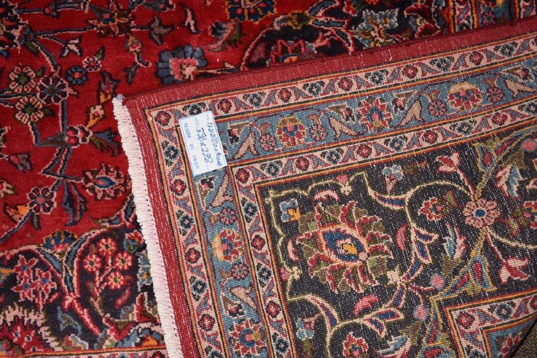 A TABRIZ HAND KNOTTED WOOL RUG, PERSIAN, MODERN, - 9