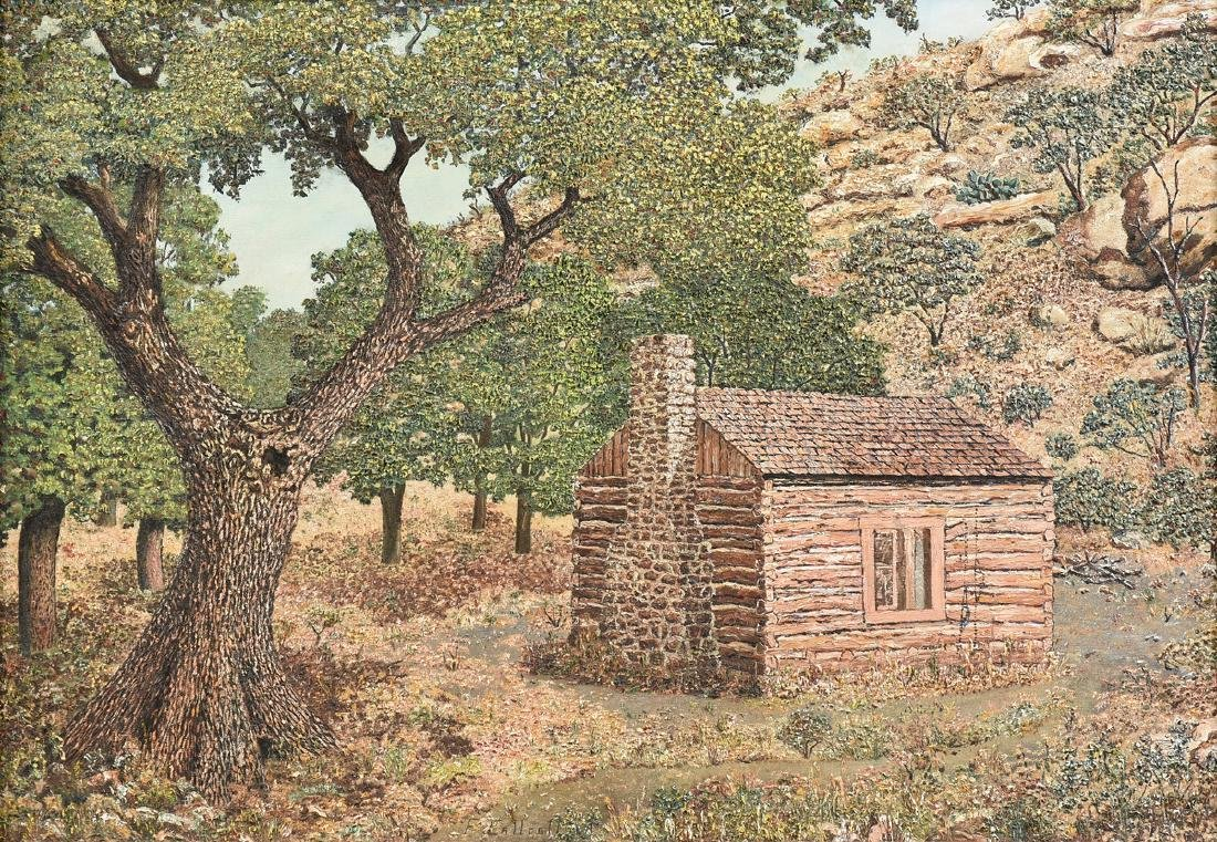 FRANK CALLCOTT (American/Texas 1891-1979) A PAINTING,