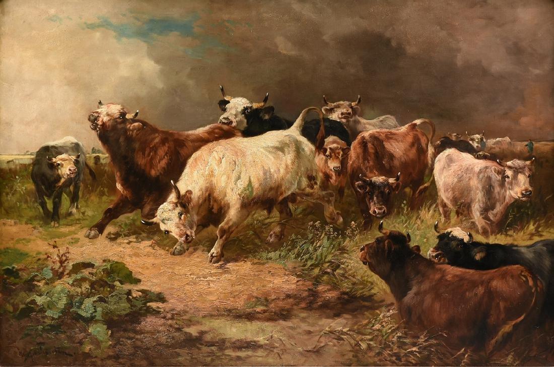 HENRY SCHOUTEN (Belgian/Indonesian 1864-1927) A