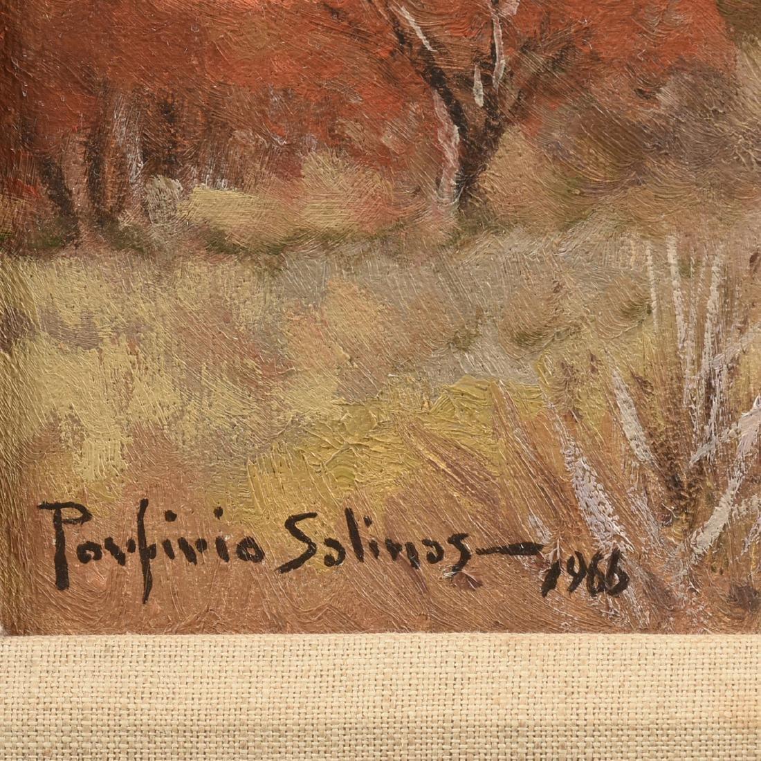 PORFIRIO SALINAS (American/Texas 1910-1973) A PAINTING, - 3