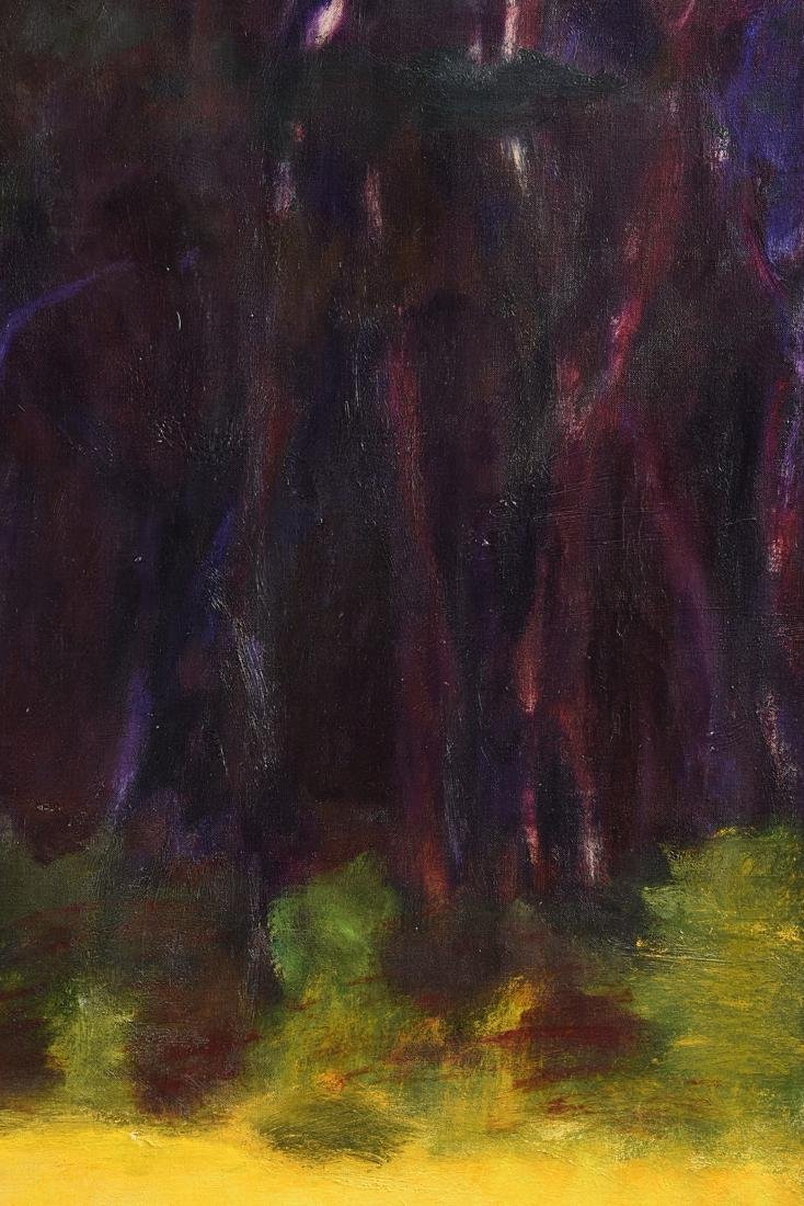 "WOLF KAHN (German/American b. 1927) A PAINTING, ""Barn - 5"