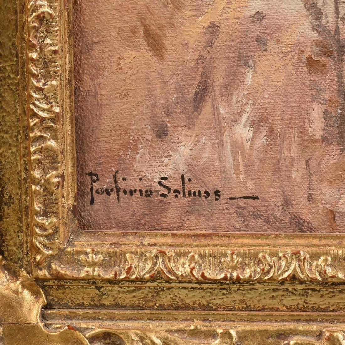 PORFIRIO SALINAS (American/Texas 1910-1973) A PAINTING, - 8