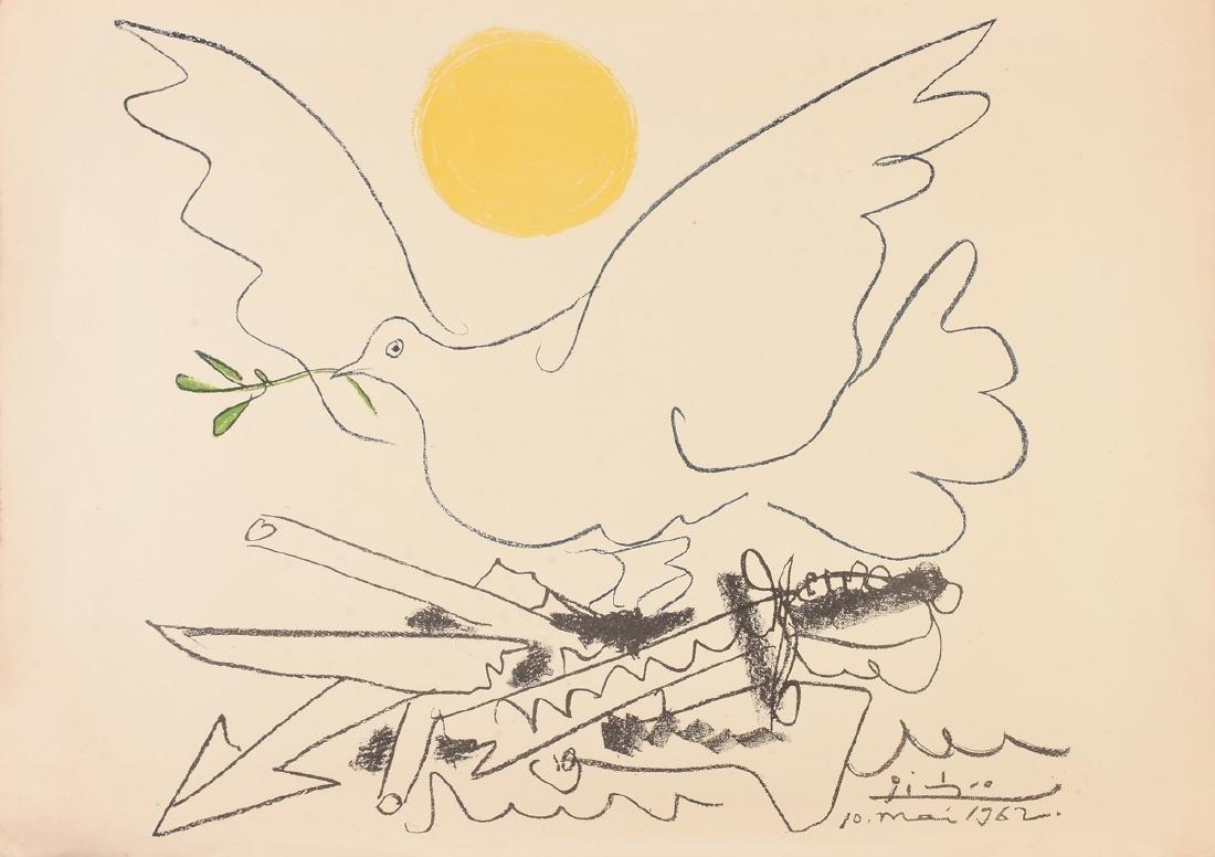 """PABLO PICASSO (Spanish 1881-1973) A LITHOGRAPH, """"La"""