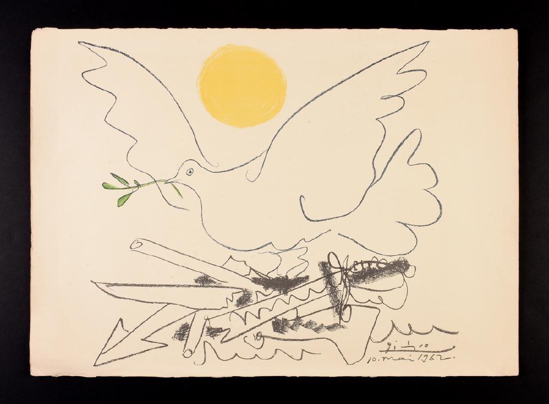 """PABLO PICASSO (Spanish 1881-1973) A LITHOGRAPH, """"La - 2"""