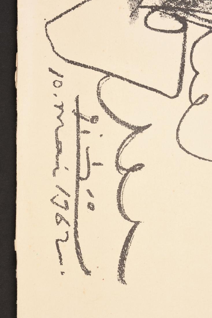 """PABLO PICASSO (Spanish 1881-1973) A LITHOGRAPH, """"La - 3"""