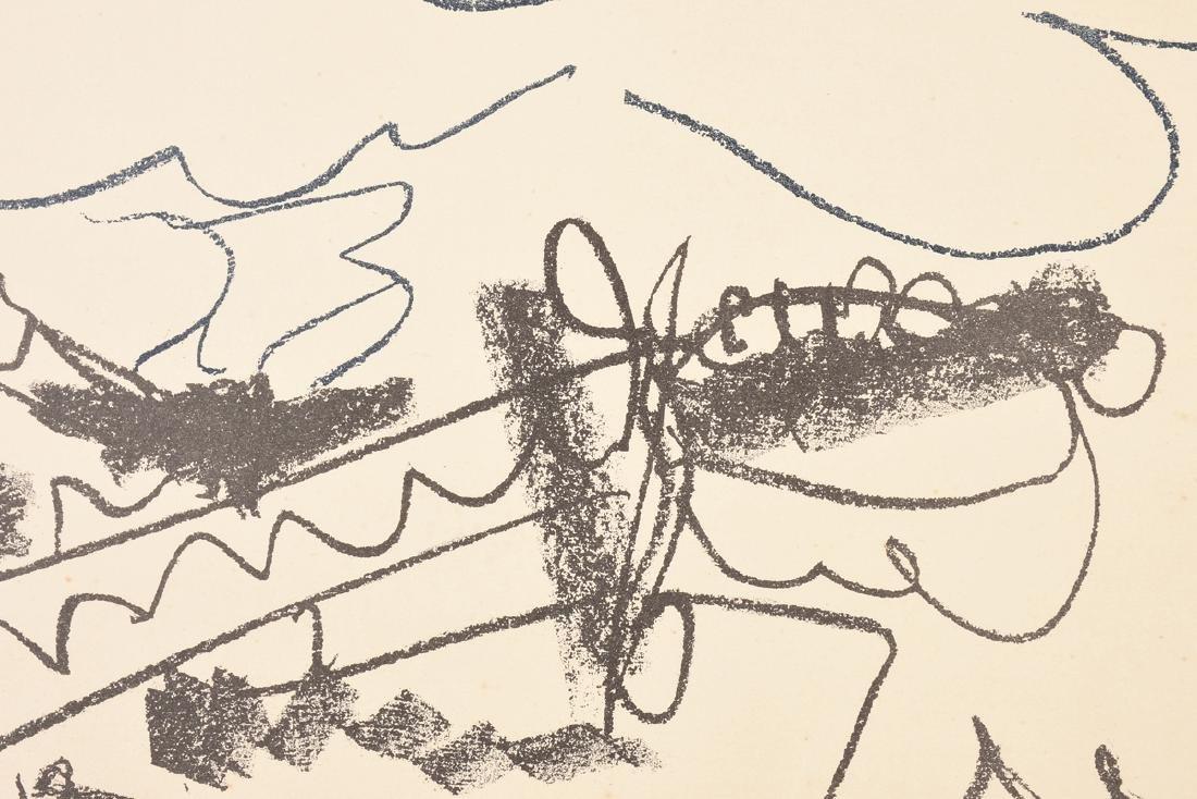 """PABLO PICASSO (Spanish 1881-1973) A LITHOGRAPH, """"La - 4"""