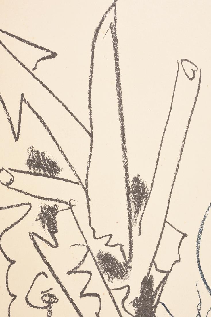 """PABLO PICASSO (Spanish 1881-1973) A LITHOGRAPH, """"La - 6"""