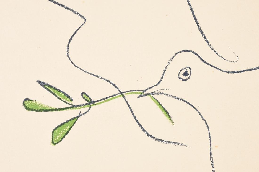 """PABLO PICASSO (Spanish 1881-1973) A LITHOGRAPH, """"La - 7"""
