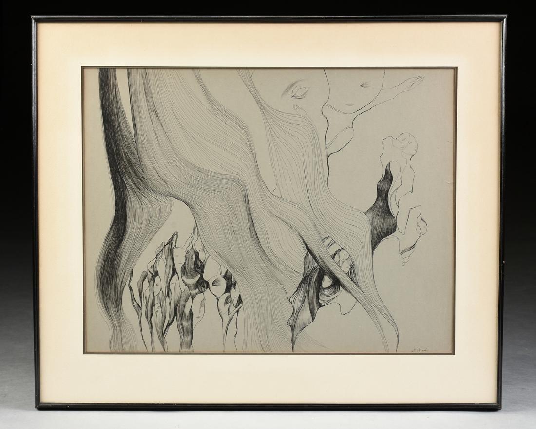 DOROTHY HOOD (American/Texas 1918-2000) A PAINTING, - 2