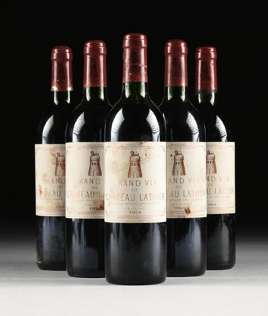 A GROUP OF SIX BOTTLES OF 1994 GRAND VIN DE CHATEAU