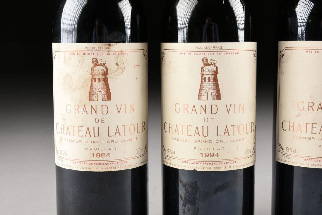 A GROUP OF SIX BOTTLES OF 1994 GRAND VIN DE CHATEAU - 2