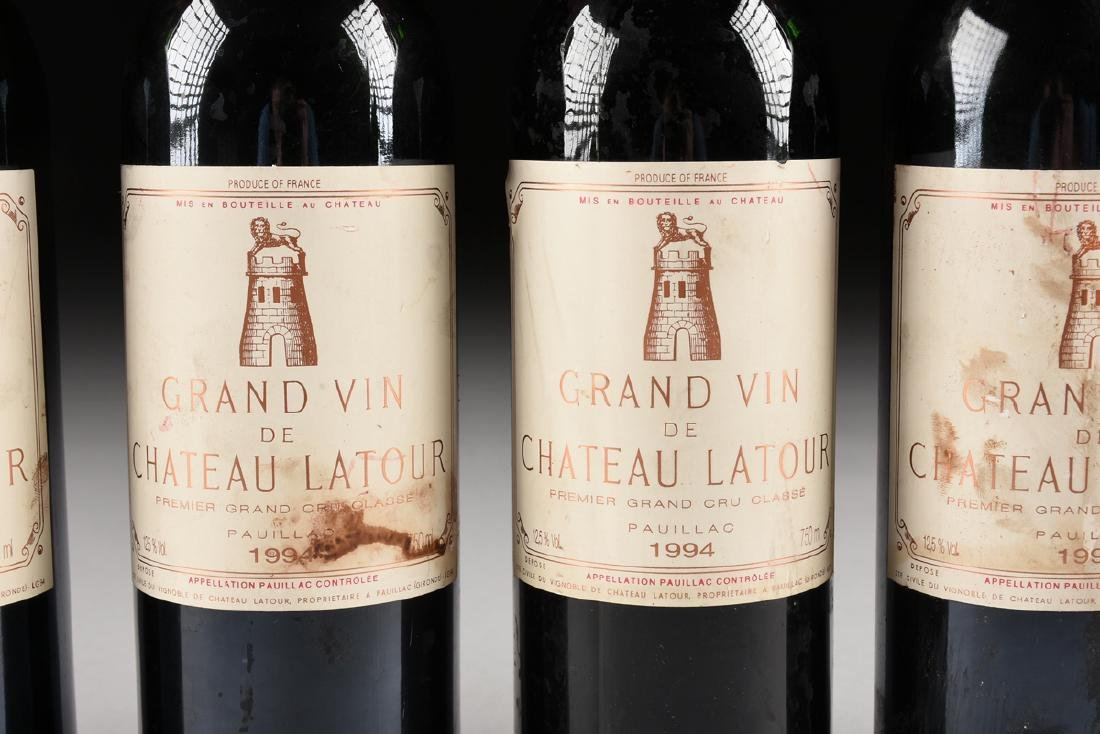 A GROUP OF SIX BOTTLES OF 1994 GRAND VIN DE CHATEAU - 3