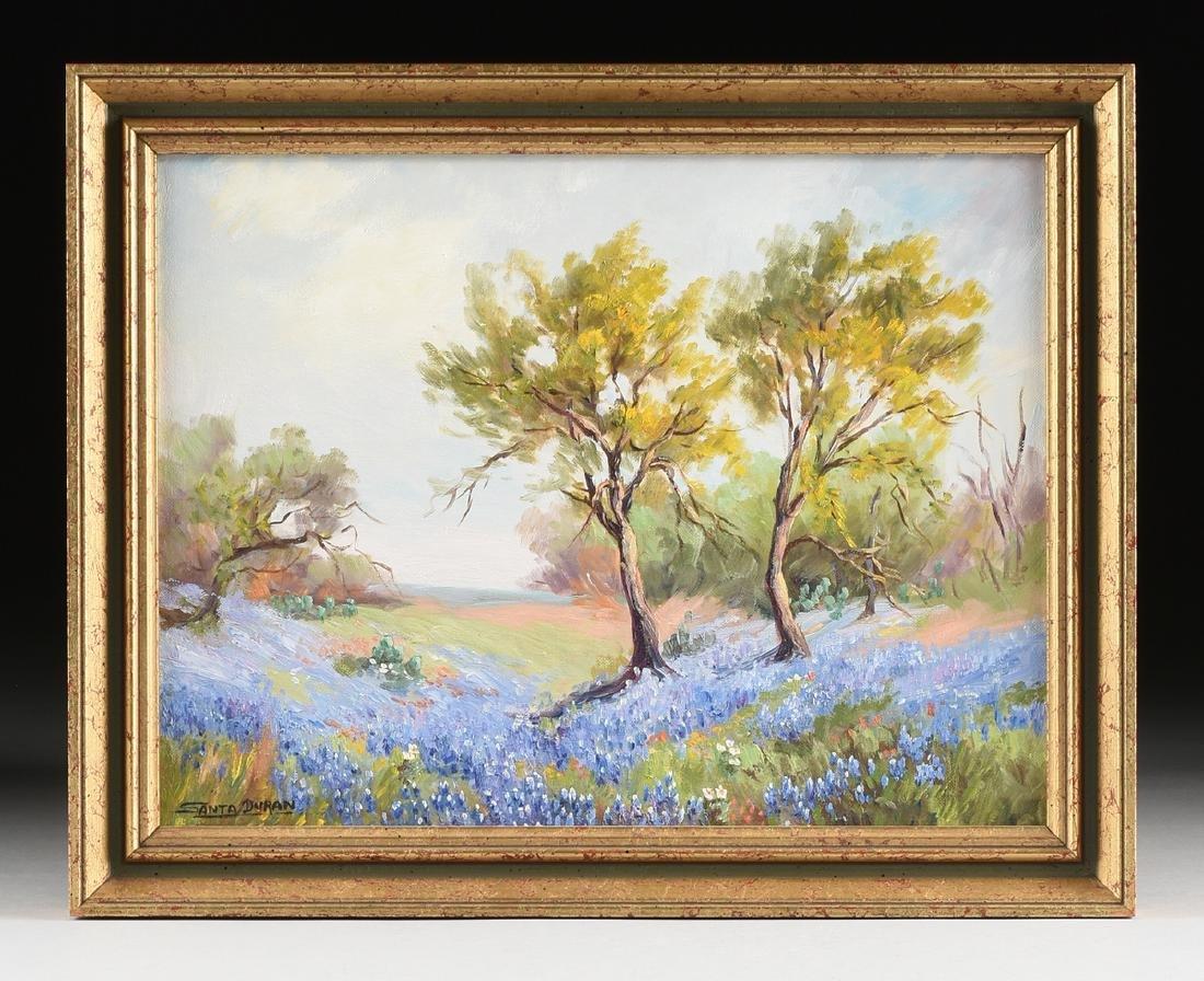 SANTA DURAN (American/Texas 1909-2002) A PAINTING, - 2