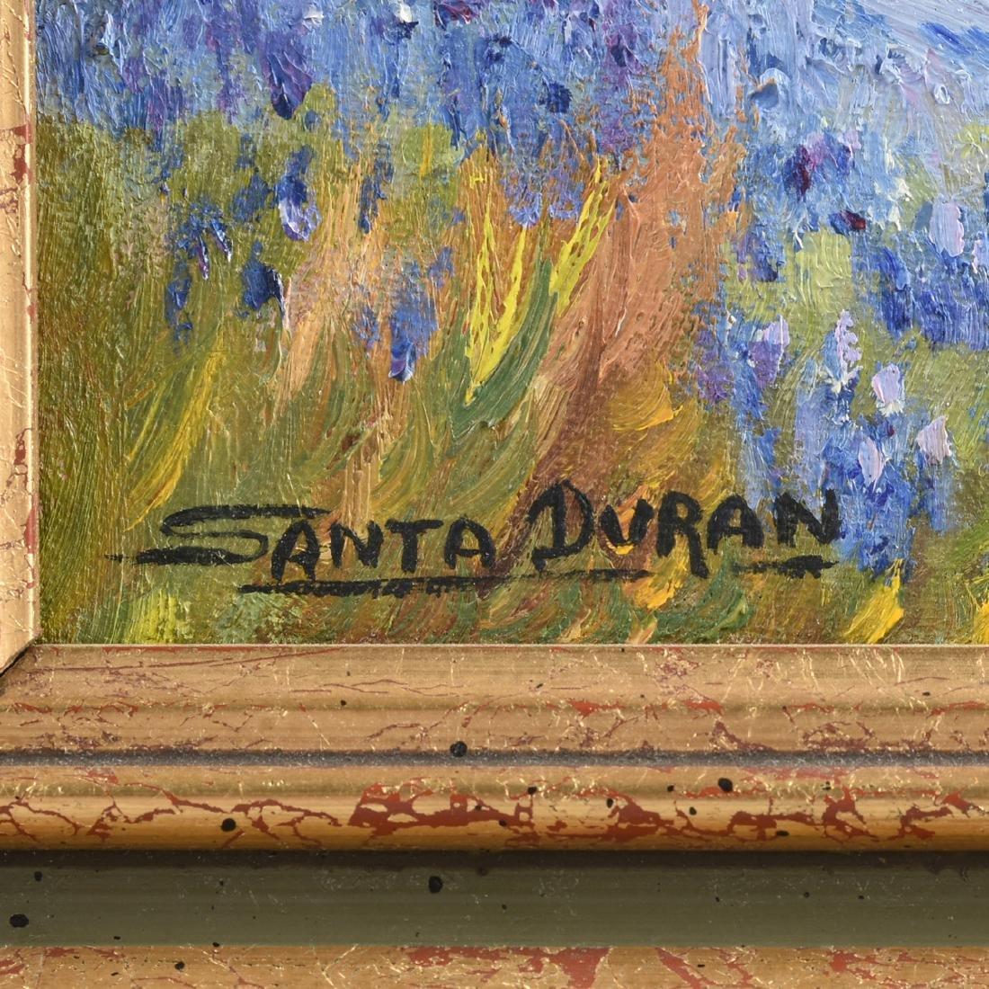 SANTA DURAN (American/Texas 1909-2002) A PAINTING, - 3