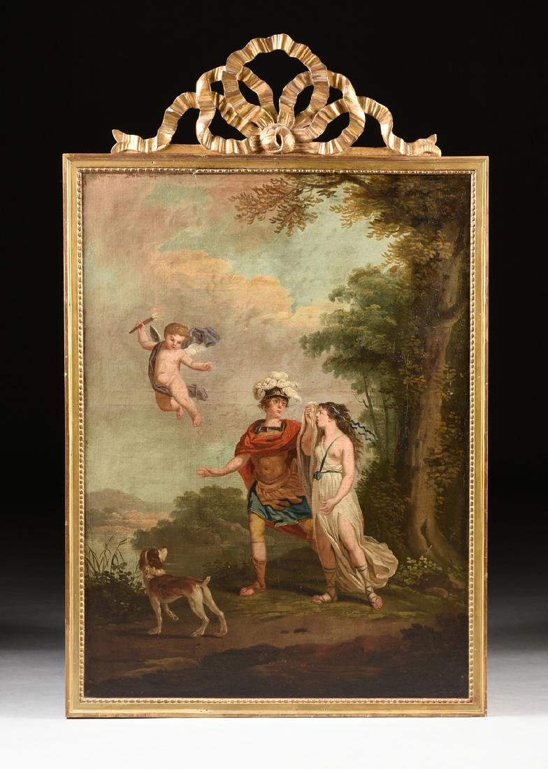 "ITALIAN SCHOOL (18th/19th Century) A PAINTING, ""Cupid, - 2"