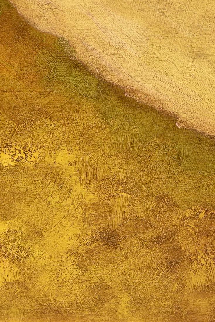 "LAMAR BRIGGS (American b. 1935) A PAINTING, ""Landscape - 10"