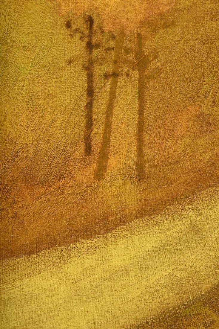 "LAMAR BRIGGS (American b. 1935) A PAINTING, ""Landscape - 4"