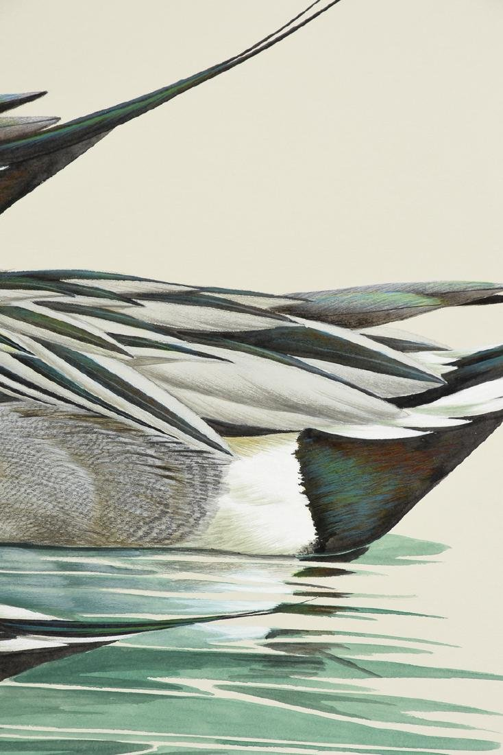 """ART LEMAY (American 21st Century) A PAINTING, """"Pintails - 5"""