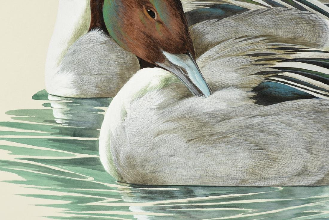"""ART LEMAY (American 21st Century) A PAINTING, """"Pintails - 7"""