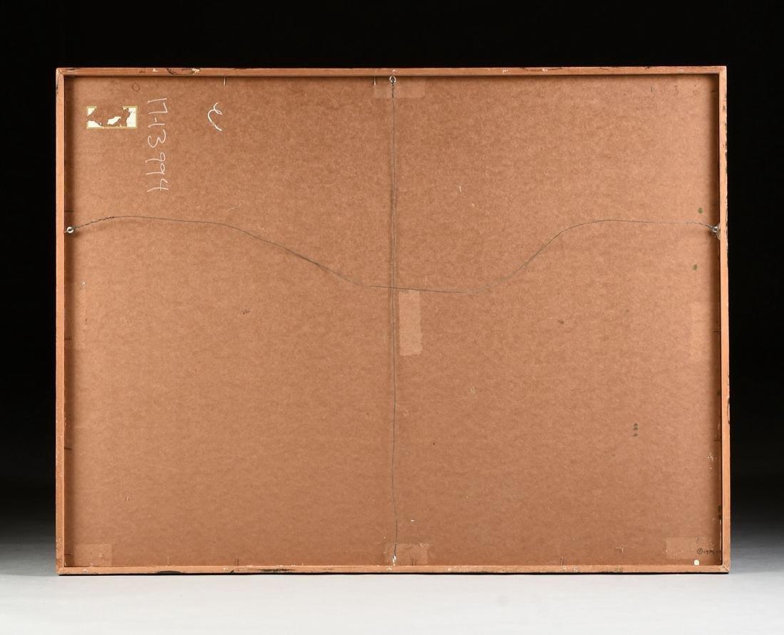 """JAN HOOWIJ (American 1907-1987) A PAINTING, """"Doors of - 12"""
