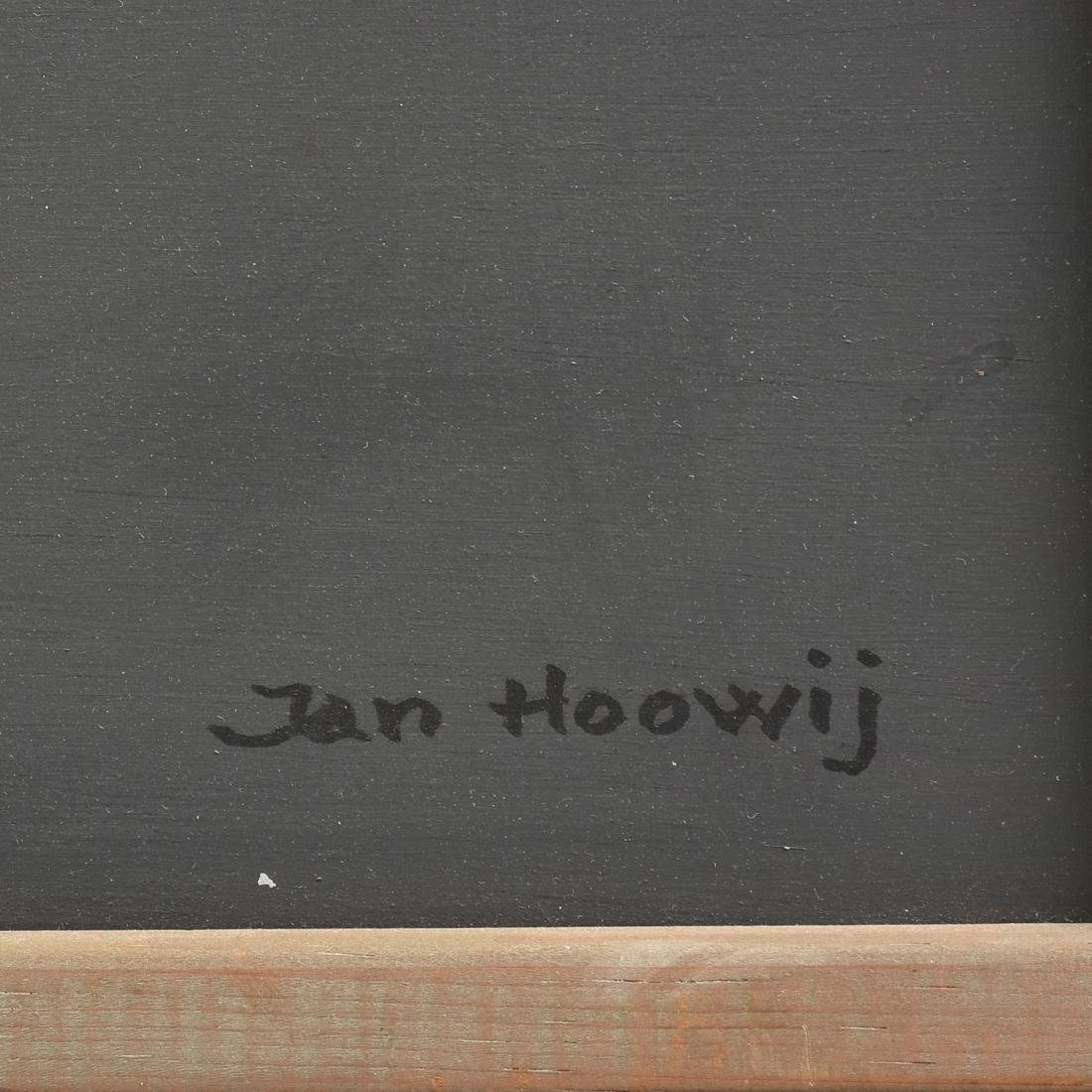 """JAN HOOWIJ (American 1907-1987) A PAINTING, """"Doors of - 3"""
