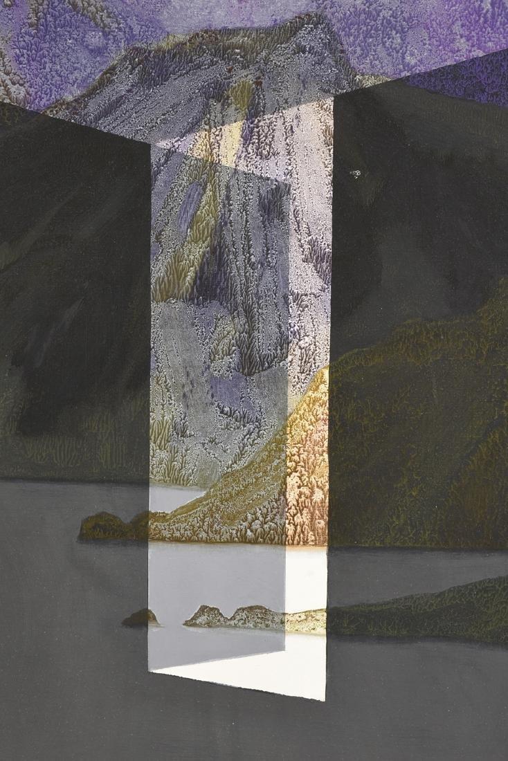 """JAN HOOWIJ (American 1907-1987) A PAINTING, """"Doors of - 5"""
